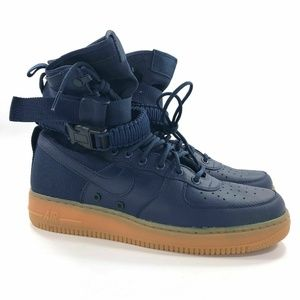 Nike Shoes - Nike SF AF1 Midnight Navy Blue 864024 400 Size 9